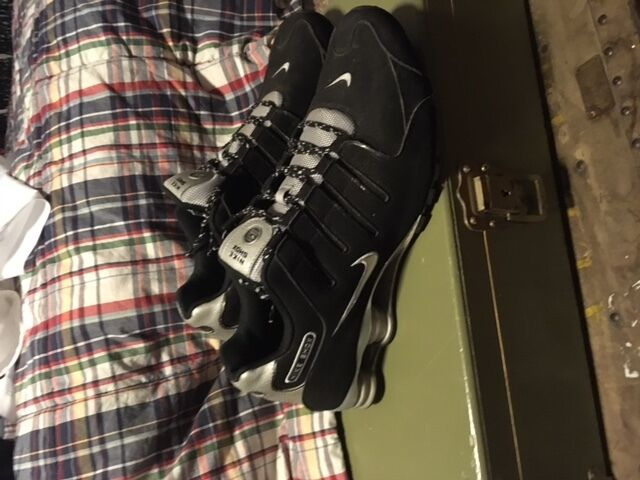 Nike Shox Shoes, size 14 black and grey