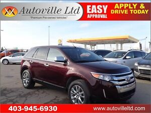 2011 Ford Edge Limited B.Camera Leather Power Heated Seats