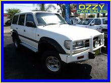 1992 Toyota Landcruiser GXL (4x4) White 4 Speed Automatic 4x4 Wagon Minto Campbelltown Area Preview