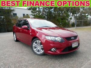 2010 Ford Falcon FG XR6 Red 6 Speed Sports Automatic Sedan Underwood Logan Area Preview