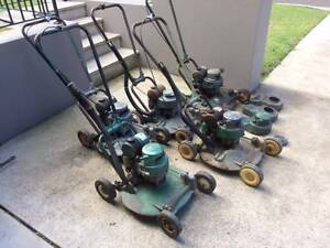 5 x Victa 18 Lawn Mowers plus other parts Miranda Sutherland Area Preview