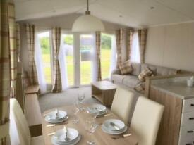 Willerby Sierra stunning french doors 3 bedroom luxury Mullion Beach Cornwall