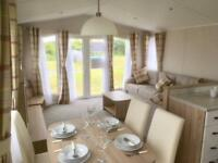 Willerby Sierra stunning french doors 3 bedroom luxury Mullion Beach Cornwall