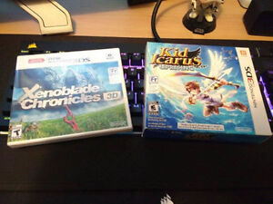 Brand New Kid Icarus Uprising 3DS and Xenoblade 3DS