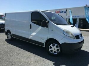 2013 Renault Trafic L2H1 MY11 2.0 DCI LWB White 6 Speed Manual Van Currumbin Waters Gold Coast South Preview