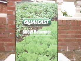 New Qualcast 800w Soil Rotavator