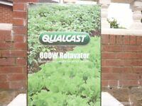 New Qualcast 800w Soil Rotavator