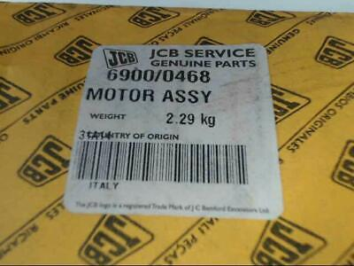 Genuine Jcb 69000468 Motor Assembly Brand New Free Shipping