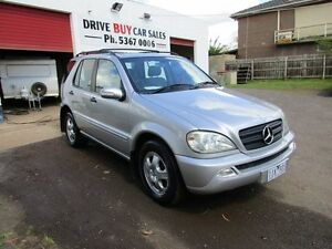 2002 Mercedes-Benz ML W163 320 Luxury (4x4) 5 Speed Auto Tipshift Wagon Maddingley Moorabool Area Preview