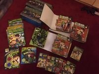 BEN10 seasons 1 to 4 DVDs, magazines and more