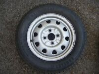 Continental Contact 165/70 x 13 Tyre on Rover Wheel