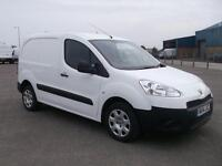 Peugeot Partner L1 850 S 1.6 HDI 92 BHP VAN DIESEL MANUAL WHITE (2014)