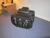 CRUISER STYLE UNUSED SADDLEBAGS,PANNIERS UNUSED........only £40