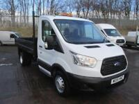 Ford Transit 350 L2 2.2 Tdci 125Ps S/Cab Tipper DIESEL MANUAL WHITE (2015)