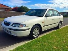 1998 Mazda 626 GF Classic White 4 Speed Automatic Sedan North Brighton Holdfast Bay Preview