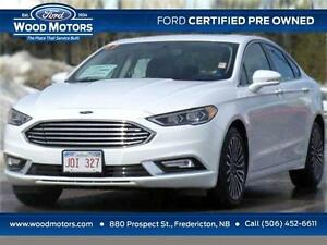 2017 Ford Fusion SE (Certified Pre-Owned)