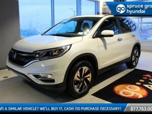 2015 Honda CR-V TOURING AWD, LEATHER, NAVIGATION, SUNROOF