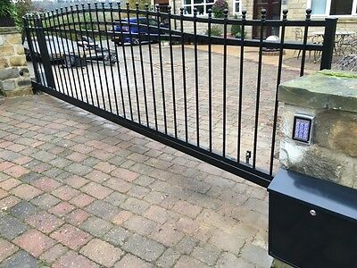 CANTILEVER SLIDING GATE AUTOMATED 12ft