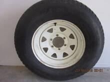 Goodyear Wrangler HT 265/70/16, 4x4 tyre on 16 x 7 steel rim Pomona Noosa Area Preview