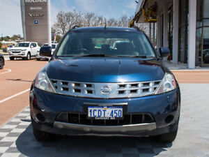 2006 Nissan Murano Z50 TI Blue 6 Speed Constant Variable Wagon