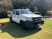 2009 TOYOTA HILUX WORKMATE DUAL CAB WORKMATE $6999 Leederville Vincent Area Preview