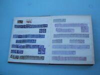 Large stockbook GB Stamps George VI & QEII H.V. Commemoratives x Dealers Lot