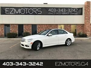 2010 MERCEDES BENZ C350|4MATIC|AMG PKG|NAV|BACKUPCAM|1 OWNER