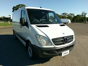 2011 Mercedes-Benz Sprinter 906 MY11 313 CDI MWB White 5 Speed Automatic Van Condell Park Bankstown Area Preview
