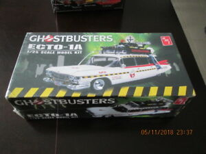 ghostbusters model kit sealed