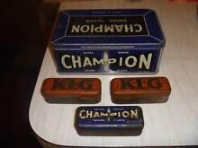 champion / klg spark plug tins Ascot 3364 Ballarat City Preview