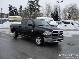 2013 DODGE RAM 1500 ST QUAD CAB SHORT BOX 4X4