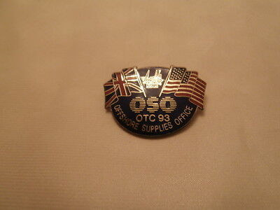1993 Offshore Supplies Office Offshore Technology Conference USA-UK Pin