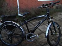 in very good condition, recent tyres and new b/pads, 37v/18 battery, 40-60 ml range