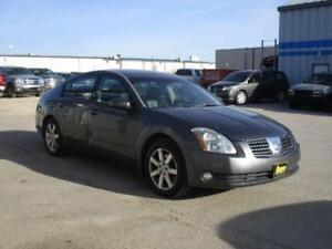 2006 NISSAN MAXIMA SL, LEATHER, SUNROOF, SAFETY&WARRANTY  $6,950