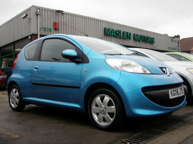 2006 peugeot 107 10 12v urban cheap to tax and insure 1 previous owner
