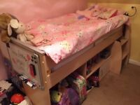 Children's single cabin bed, Good Condition ONLY £70