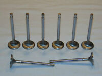 "CHEVROLET & FORD INTAKE VALVES 2.02"" STAINLESS STEEL SET OF (8)"