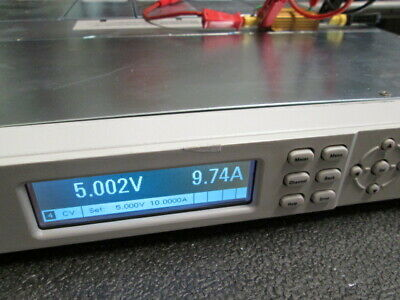 Agilent N6700b 4 Outputs 5v10a Tested N6731bx4 Programmable Usb 1u Height