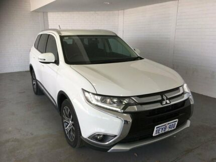 2016 Mitsubishi Outlander ZK MY16 LS 2WD White 6 Speed Constant Variable Wagon Midvale Mundaring Area Preview