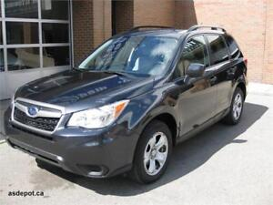 2015 Subaru Forester 2.5i, REAR CAM,BLUETOOTH,HTD SEATS, LOW KMS