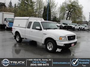 2008 FORD RANGER XL EXT CAB w/ CANOPY