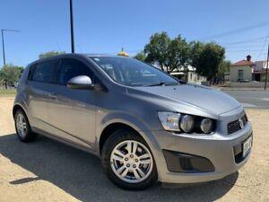 2012 Holden Barina TM Grey 5 Speed Manual Hatchback West Hindmarsh Charles Sturt Area Preview