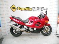 2002 02 SUZUKI GSX 750 FK2