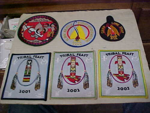 6 Tribal Feast Mic O Say HOAC Bartle Iconium Missouri BSA patch patches 2000