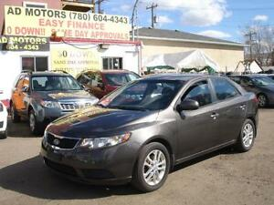 2012 KIA FORTE EX AUTO LOADED 99K-100% APPROVED FINANCING!