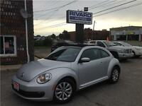 2013 Volkswagen Beetle With NAV, SUNROOF, HEATED SEATS