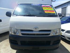 2007 Toyota Hiace LWB White Manual Van Lidcombe Auburn Area Preview