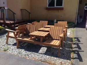 Cedar Patio/Deck Chairs For Sale