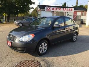 2011 Hyundai Accent Automatic/Pwr Group/Clean Carproof/Certified