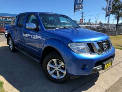 2011 Nissan Navara D40 S5 MY12 ST-X Blue Sports Automatic Utility Mulgrave Hawkesbury Area Preview